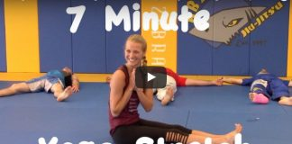 7 Minutes of Yoga for BJJ with Cassidy Jane Yoga