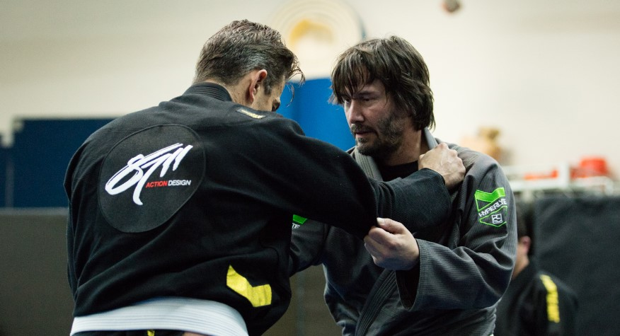 Keanu Reves Training for John Wick 2