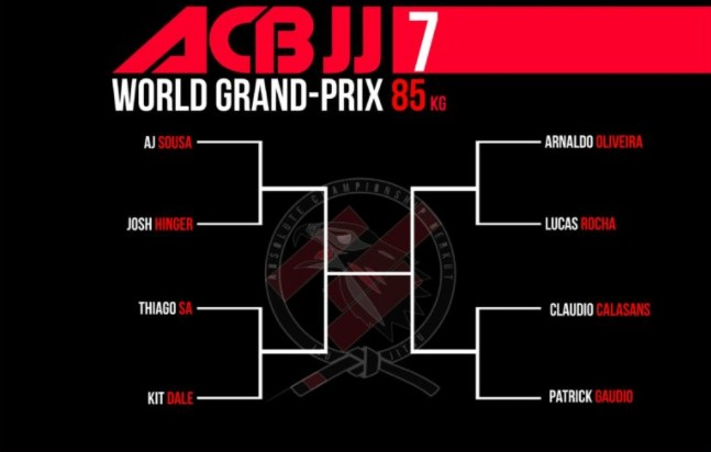 ACB JJ 7 World Grand PRIX 85 kg division