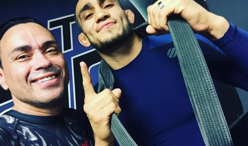 Eddie Bravo Promoted Tony Ferguson to a Black Belt