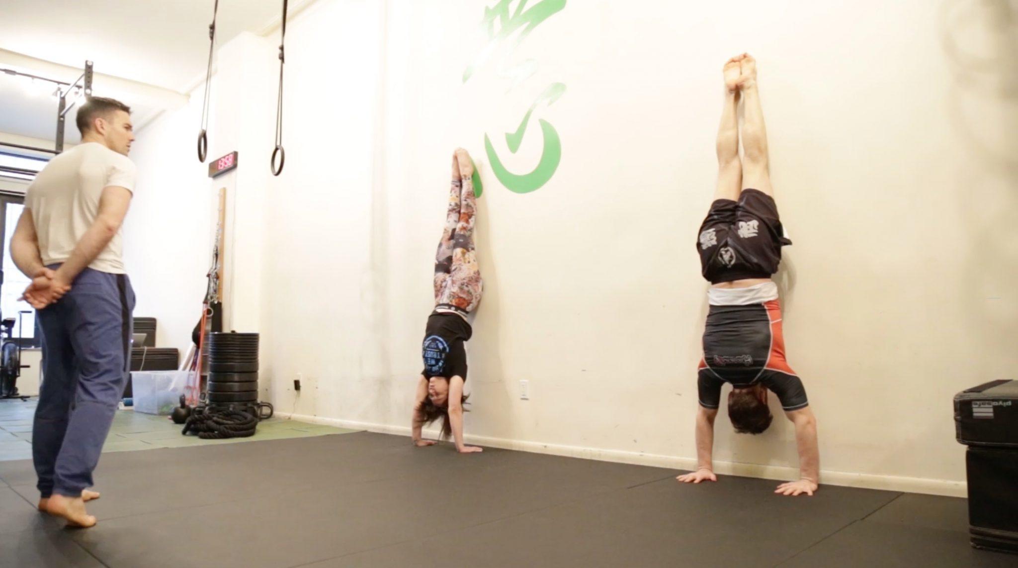Gymnastics for Jiu Jitsu