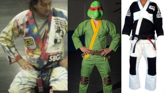 Crazy Side of BJJ - Cool, Funny, Ridicolous and Cheap BJJ Gis for Everyone's Pocket