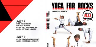 Yoga For BJJ Sebastian Brosche And the latest Yoga For Rocks DVD