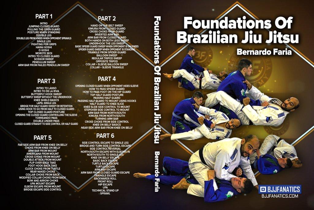 Bernardo Faria DVD Foundations Of BJJ