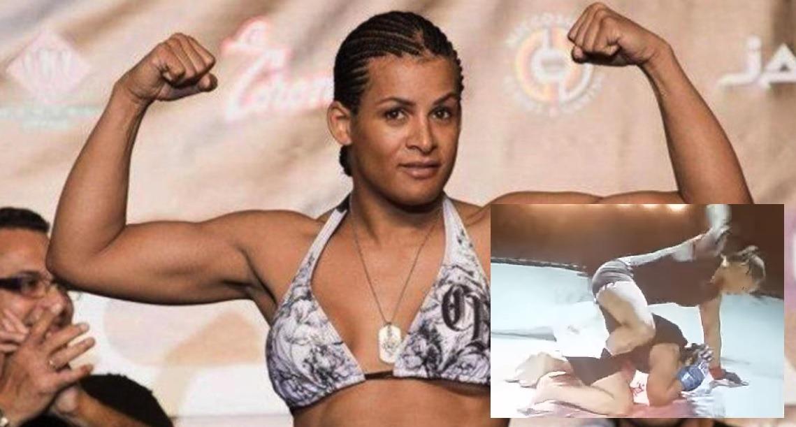 Transgender MMA Fighter Breaks Skull of Her Female Opponent.