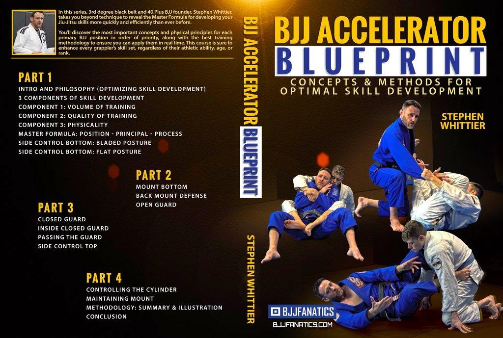 Review Of the BJJ Accelerator Blueprint Stephen Whittier DVD Instructional