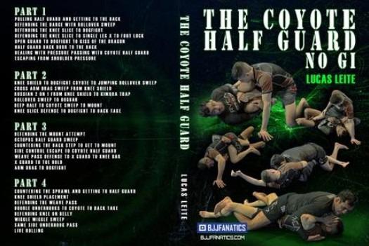 The Coyote Half Guard No Gi - Lucas Leite DVD