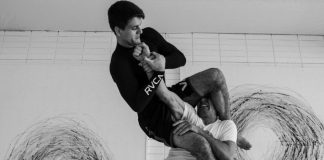 Flying armbar safely