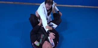 BJJ Stretch Guard - the easiest BJJ Open Guard