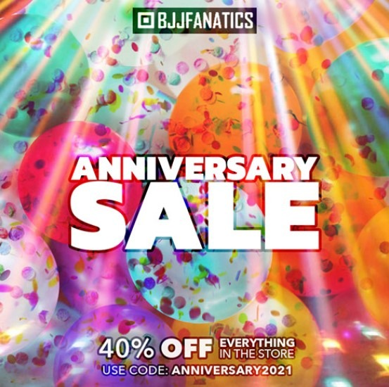BJJFanatics Anniversary Sale