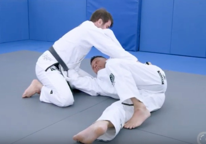 side control - Exposing The Flaws Of The BJJ Shrimp Escape
